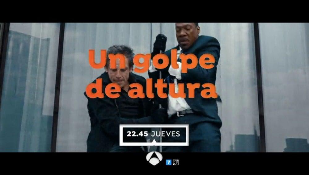 Frame 7.297246 de: Ben Stiller y Eddie Murphy protagonizan 'Un golpe de altura'