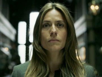 Raquel, la única inspectora a la altura del plan de El Profesor