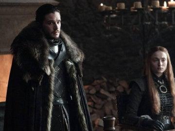 Jon Snow en la séptima temporada de 'Juego de Tronos'