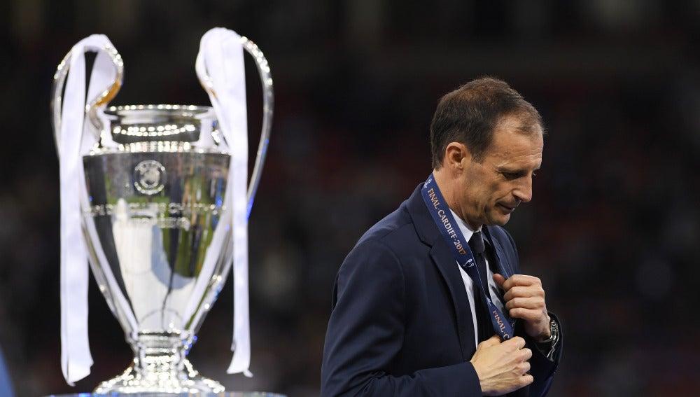 Allegri, tras perder la final de la Champions ante el Real Madrid