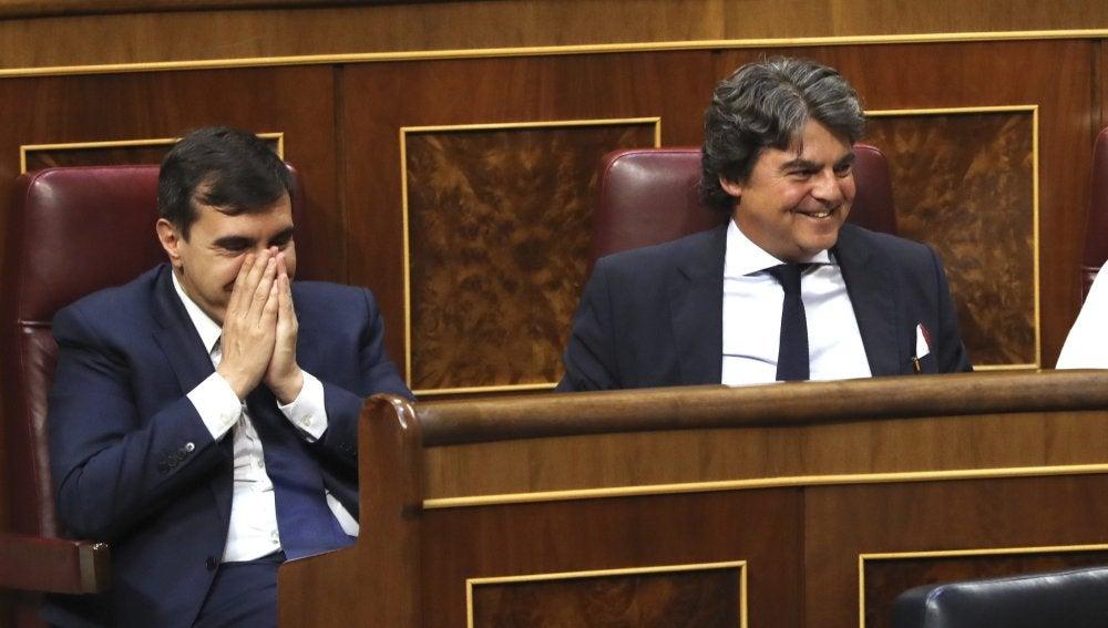 Jorge Moragas tras su equivocación
