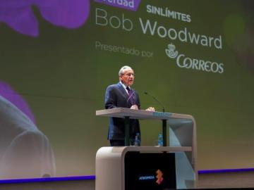 Bob Woodward, célebre periodista de investigación y una de las figuras periodísticas más reconocidas a nivel mundial