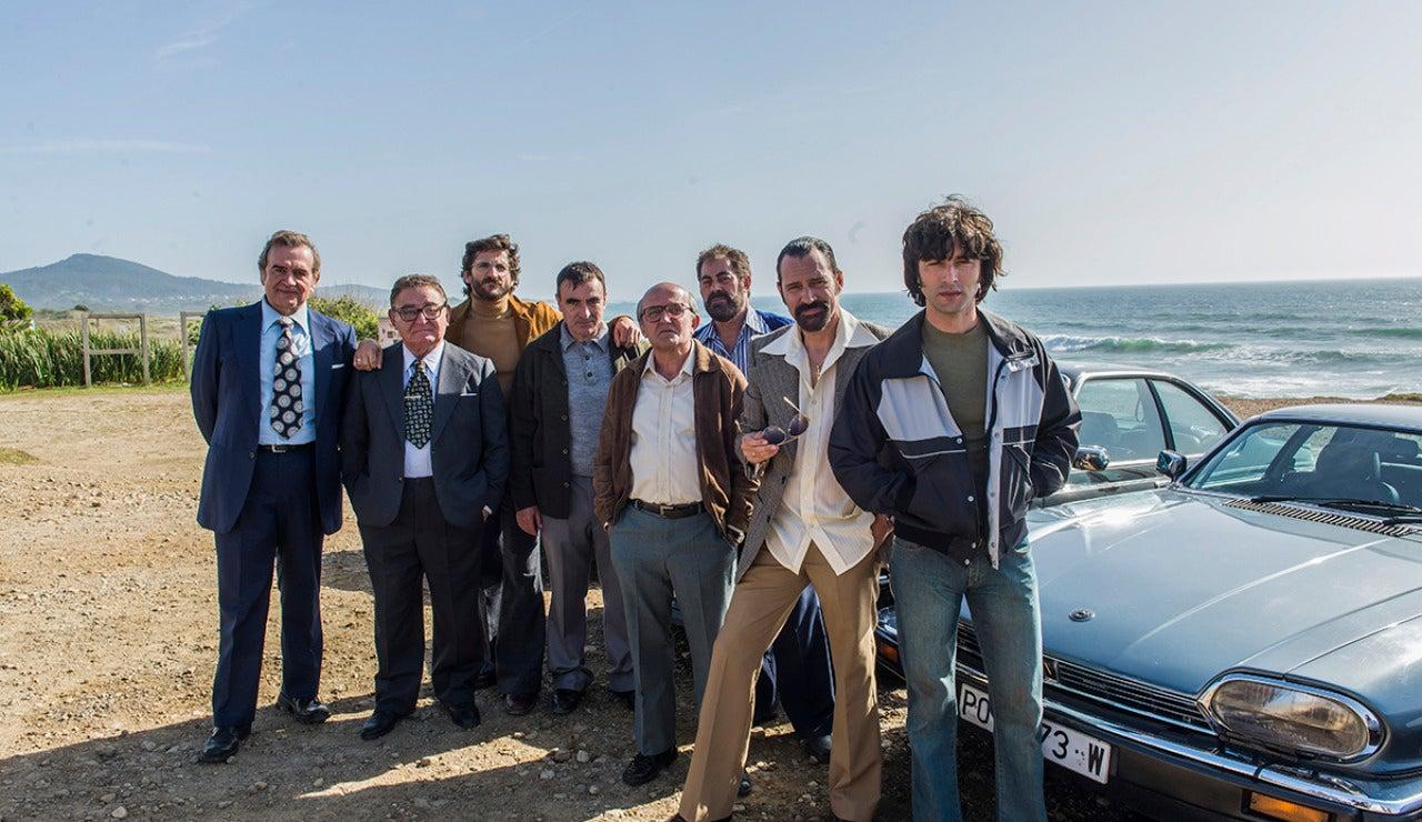 El elenco de Fariña