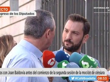 """Frame 16.973169 de: Baldoví: """"El humor a veces hace ganar debates a Rajoy, pero ayer no fue el caso"""""""
