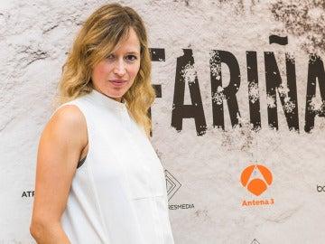 Marta Larralde es Nieves en 'Fariña'