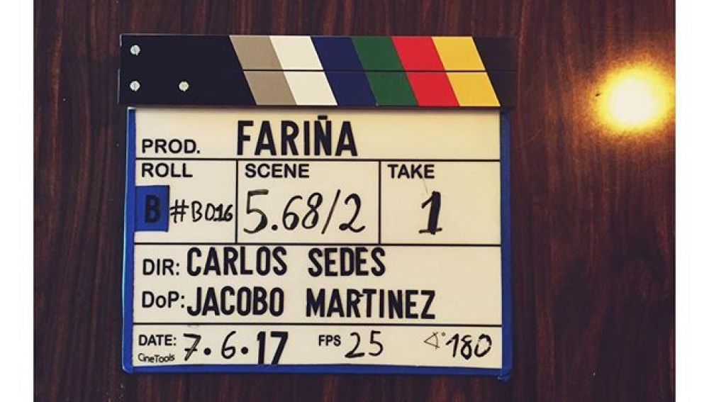 Los protagonistas de 'Fariña' viven el rodaje en las redes sociales