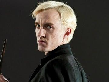Tom Felton caracterizado como Draco Malfoy en 'Harry Potter'