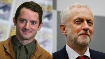 ¿Es Elijah Wood un hijo secreto de Jeremy Corbyn?