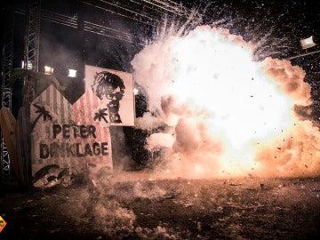 El bonito homenaje de 'El Hormiguero 3.0' a Peter Dinklage en forma de obra de arte