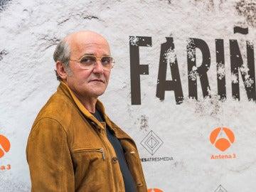 Antonio Durán Morris es Manuel Charlín en 'Fariña'