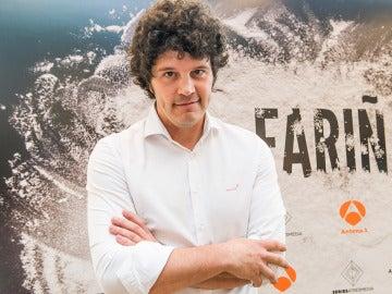 Xose Antonio Touriñán es Paquito Charlín en 'Fariña'