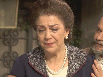 Francisca Montenegro, destrozada y rota de dolor