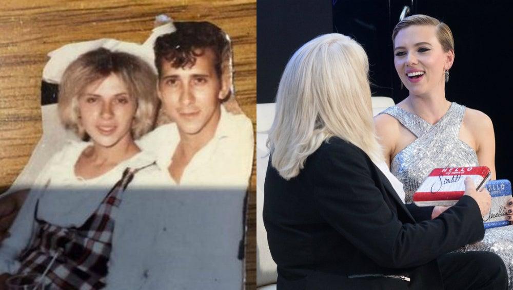 Scarlett Johansson se ha encontrado con su doble