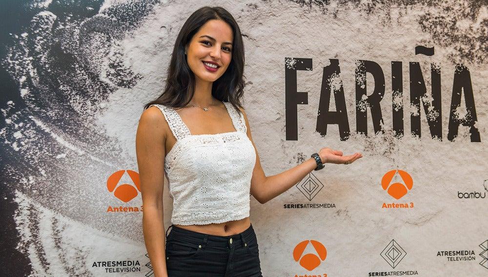 Jana Pérez es Camila en 'Fariña'