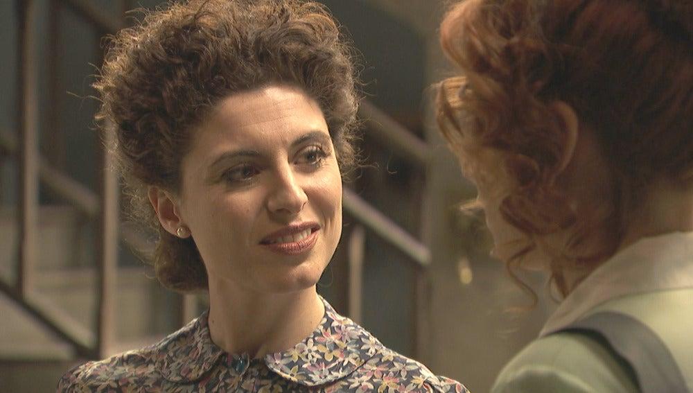 """Nazaria amenaza a Fe: """"Mantente alejada de mi marido"""""""