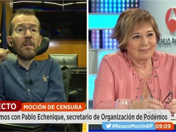"""Echenique, sobre el PSOE: """"Espero que las palabras se conviertan en hechos en semanas o meses para echar al PP"""""""
