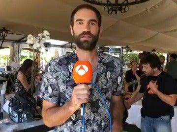 Jon Plazaola, un intrépido reportero junto al equipo de 'Allí Abajo'