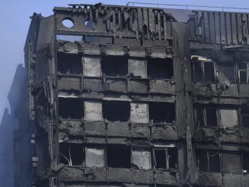 Incendio en Londres en la Torre Grenfell
