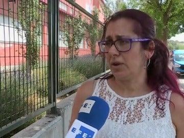 Alumnos atendidos en  un colegio de Valdemoro