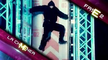 La segunda fase del segundo programa de 'Ninja Warrior'