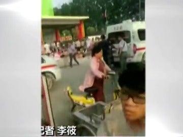 Al menos 8 muertos y 59 heridos por una explosión en una guardería infantil en China