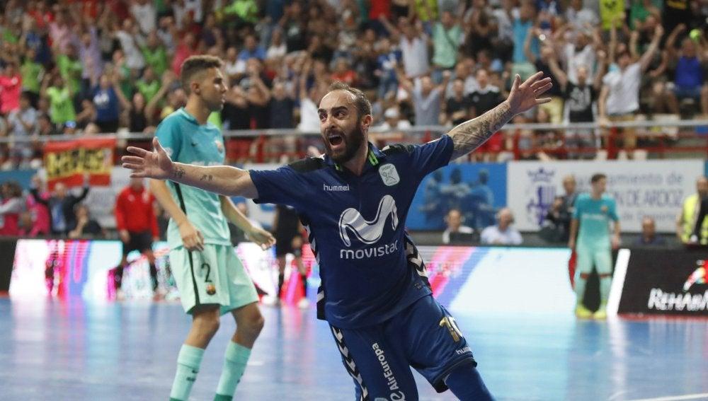 El Inter Movistar campeón de liga tras una genialidad de Ricardinho