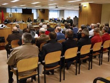 Vista del caso 'Guateque' en la Audiencia Nacional