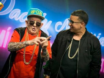 'El Hormiguero 3.0' vive su encuentro más esperado: Daddy Yankee y Daddy Melquiades bailan juntos 'A mi me gusta el TACA TACA'