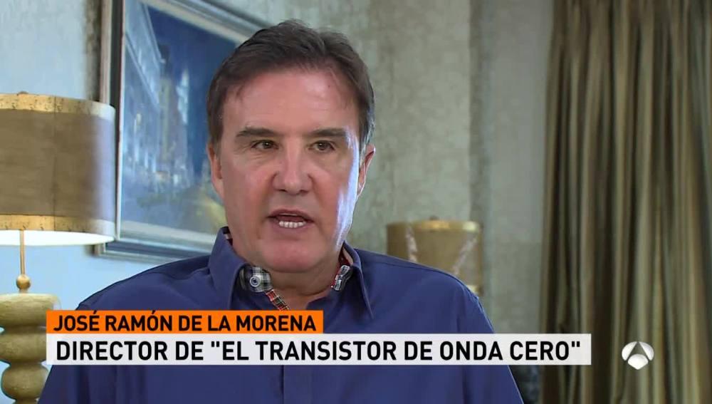 José Ramón de la Morena, director de 'El Transistor'