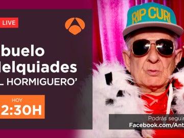Charla en directo con el abuelo Melquiades esta noche a través de Facebook Live