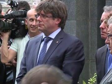 Críticas a Puigdemont por relacionar la resistencia contra ETA y el referéndum