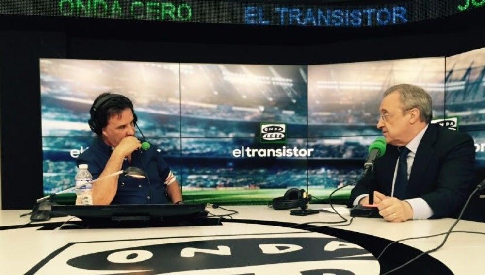 Florentino Pérez, en 'El Transistor' de Onda Cero