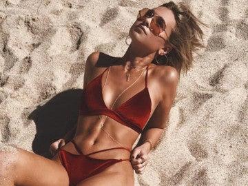 Bikini de terciopelo, la nueva moda para este verano