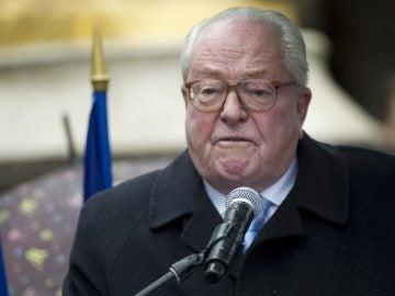 El líder histórico de la extrema derecha francesa, Jean-Marie Le Pen