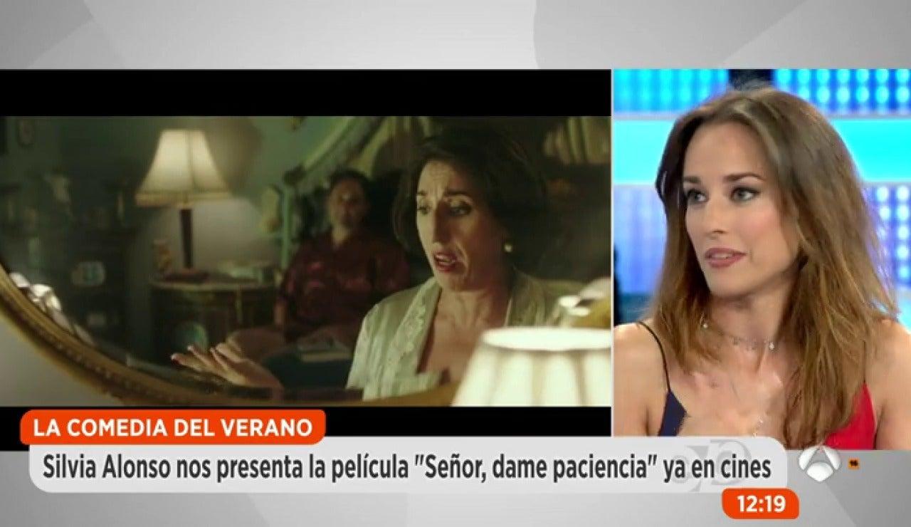 Silvia Alonso cuenta en Espejo Público la anécdota más comprometida del rodaje de 'Señor dame paciencia'