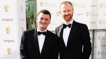 Mark Gatiss y Steven Moffat