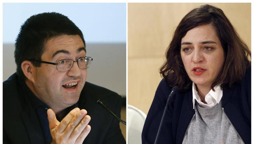 Los ediles de Ahora Madrid, Carlos Sánchez Mato y Celia Mayer