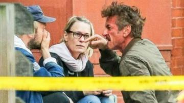 Sean Penn, Robin Wright y Jimmy Giannopoulos