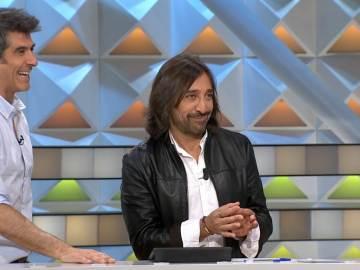 Antonio Carmona visita el plató de 'La ruleta de la suerte'