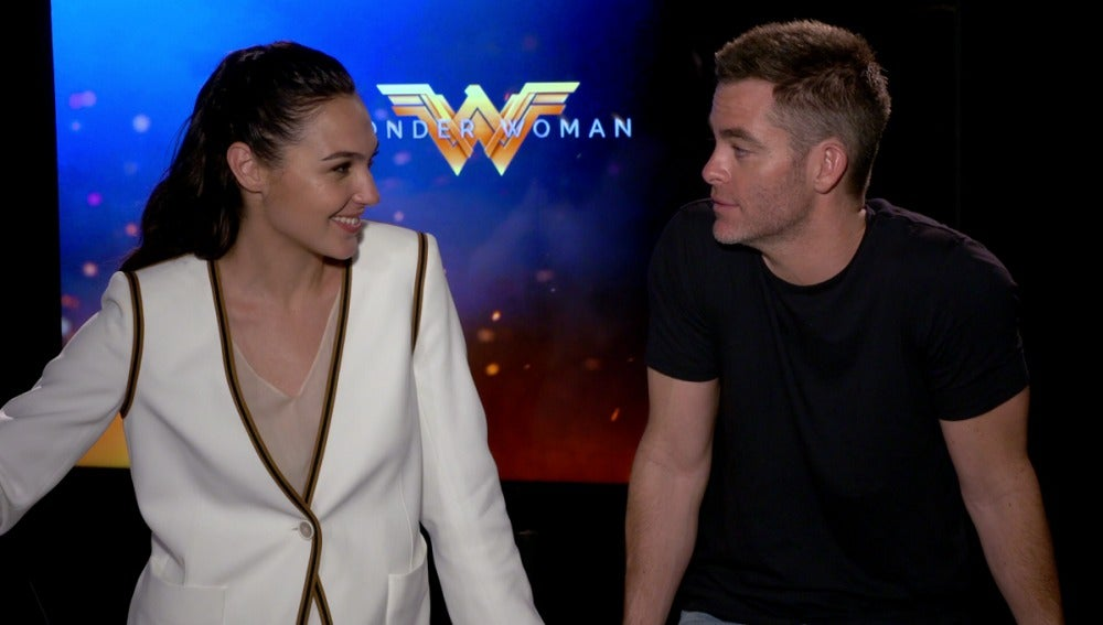 Entrevista exclusiva con Gal Gadot y Chris Pine