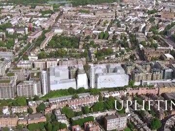 Los afectados por el incendio en el edificio de Londres serán realojados en un bloque de viviendas de lujo