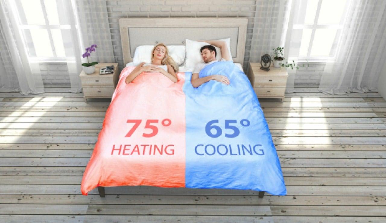 El nuevo edredón que permite dormir a la temperatura deseada