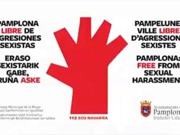 Pamplona lanza una campaña para evitar las agresiones sexuales