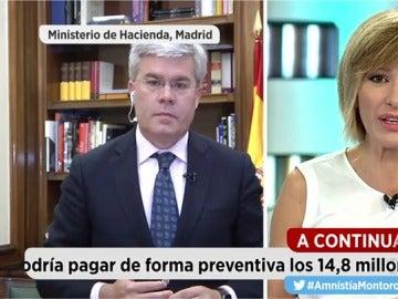 José Enrique Fernández de Mora, secretario de Estado de Hacienda
