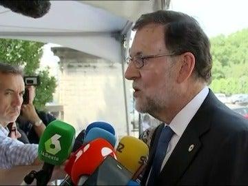 """Rajoy advierte al PSOE del """"error"""" de no apoyar el CETA y llama a evitar """"el ridículo"""" ante la UE"""