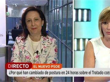 Margarita Robles, en Espejo Público