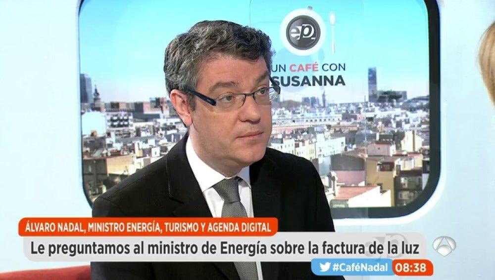 Álvaro Nadal, ministro de Energía, Turismo y Agenda Digital