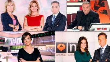 Atresmedia Televisión, grupo elegido por los consumidores de noticias para informarse
