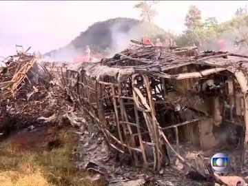 Al menos 21 personas han muerto en un accidente múltiple de tráfico en Brasil