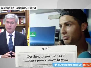 Cristiano Ronaldo pagará a Hacienda